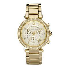 Michael Kors Women's MK5354 Parker Gold Watch
