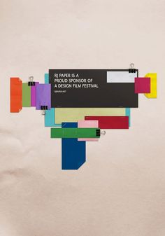 The Design & Branding titled A Design Film Festival was done by BEAUTIFUL Singapore advertising agency for A Design Film Festival in Singapore. Fff Logo, Film Festival Poster, Cinema, Cool Posters, Movie Posters, Deconstruction, Graphic Design Inspiration, Design Ideas, Advertising Design