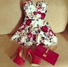 Cute outfit for valentine's day date ♥