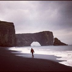 chrisburkard:    Iceland vibes … Reid Jackson searching .. #iceland_surf @topodesigns @sitka_ @tevashoes (Taken with Instagram)