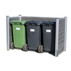 skraldespandsskjuler_fritlagt Laundry, Organization, Garage, Medium, Products, Laundry Room, Getting Organized, Carport Garage, Organisation