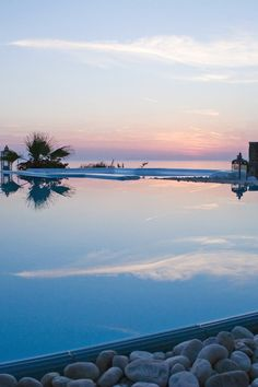 On a cliffside perch overlooking the Aegean, Apanema promises spectacular Cyclades sunsets. #Jetsetter