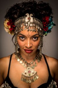 Ignited: Marked A Belly Dance Novel with a whole new twist! Check it Out....Check out the head piece & jewelry!