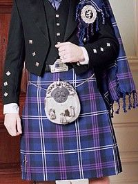 My groom will be wearing a kilt similar to this one-- I am so lucky! :-D