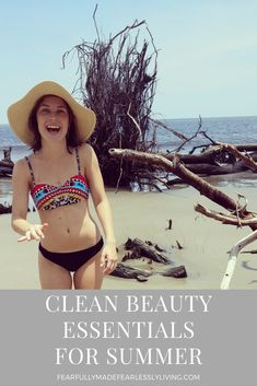 The weather is heating up and I wanted to share all the clean beauty goodness that I've been reaching for this summer. So grab your sun hat and your icy drink and keep reading! Free Makeup, Clean Beauty, Beauty Essentials, Organic Beauty, Sun Hats, Mindful, Weather, Cleaning, Drink