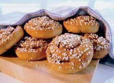 cinnamon buns - a must have for every swede. Altough They must be creamy.