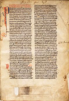 Pope Gregory the Great (ca. 540–604), Cura Pastoralis, in Latin, 32 leaves. This hand-decorated manuscript on vellum was owned by and probably written at the Reading Abbey in Berkshire, England, around 1225–1250. Huntington Library, Art Collections, and Botanical Gardens.
