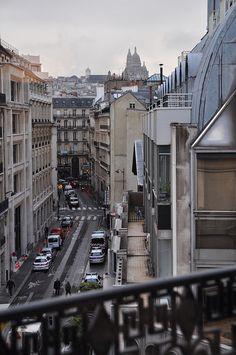 Paris view from Kitsuné show room (I think)