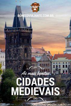 Dicas do Boneco Viajante para quem se interessa por Cidades Medievais.