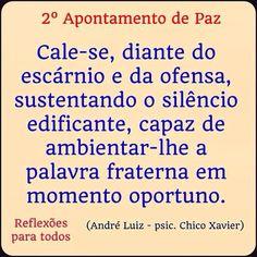 Mensagens espíritas | Chico Xavier | André Luiz