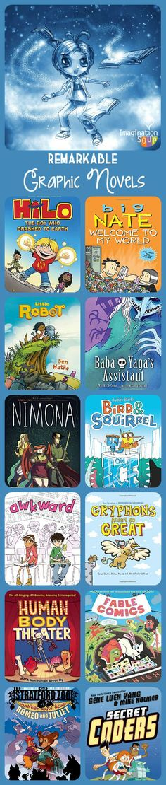 fall 2015 -- the best new graphic novels for kids