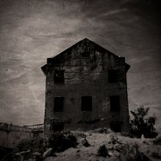 5x5 SALE - The Alcatraz Experiment - Gothic Art Print, Dark Surreal Photography, Horror Inspired