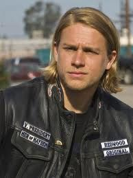 Charlie Hunnam...there's just something about a young, attractive, scruffy biker with good teeth.  Or maybe just with all of his teeth...lol