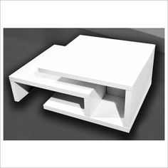 Zola Extendable Coffee Table in High Gloss White By Designs