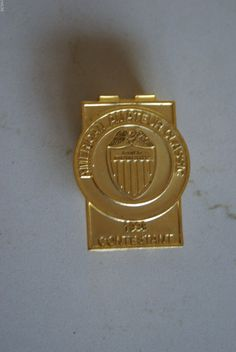 American Amateur Classic 1998 Contestant Badge/Money Clip Buy Golf Clubs, Money Clips, Taylormade, Michael Kors Watch, Gold Watch, Badge, American, Classic, Stuff To Buy