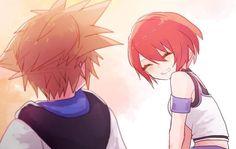 Kairi Kingdom Hearts, Kingdom Hearts Fanart, Sora And Kairi, Kh 3, The Time Machine, Dnd Characters, Character Design References, Disney And Dreamworks, Digimon