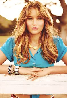 jennifer lawrence - I want my hair this color after the wedding