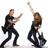 Hetfield about Mustaine - Rock and Metal news from Rockalyrics - rock and metal music lyrics community. We include info, news and links to any band, album or song. Dave Mustaine, Metallica, Heavy Metal, Best Guitar Players, Metal News, James Hetfield, Music Lyrics, Toms, Manga