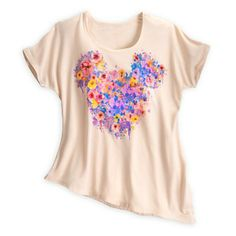 @Annaka Lehman Mickey Mouse Floral Tee for Women what do you think?