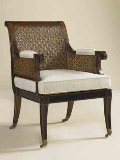 - Henrietta Spencer-Churchill for Maitland-Smith Maitland Smith, Fine Furniture, Churchill, Furnitures, Armchair, Chairs, Interiors, Contemporary, House