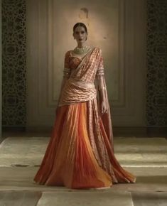 Indian Fashion Dresses, Indian Gowns Dresses, Dress Indian Style, Indian Designer Outfits, Dhoti Saree, Lehenga Saree Design, Lehenga Designs, Designer Sarees Wedding, Designer Sarees Online