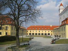Bratislava Castle in 03/2012