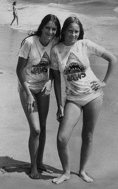 As Steven Spielberg's 1975 monster movie turns we share some lesser-known images from the making and release of a classic Jaws Film, Jaws Movie, Jaws 2, Classic Monsters, Steven Spielberg, Great White Shark, Film Serie, I Love Girls, Classic Movies