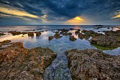 sunset reef 日落礁石 by Sunrise@dawn 風傳影像 on 500px