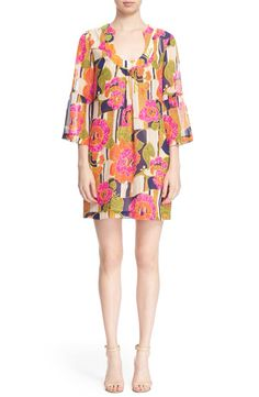 5d1606296770 Trina Turk Trina Turk  Bonita  Print Silk Shift Dress available at   Nordstrom Wish