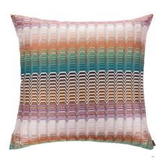Buy Missoni Home Sofa Pillows Sofa Pillows, Throw Pillows, Luxury Sofa, Scatter Cushions, Missoni, Home Accessories, Seattle, Design, Couch Cushions