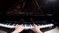 """Valentina Lisitsa plays the 3rd movement of Beethoven's Piano Sonata No. 17 in D minor, Op. 31, No. 2, aka """"The Tempest"""", and records it using a GoPro."""