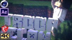 New TC Minecraft Intro HD2160p   Free Cinema 4D & After Effects CC Templ...
