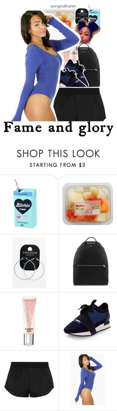 """""""01-30-2017."""" by originalimanim ❤ liked on Polyvore featuring Valfré, Topshop, Smythson, Victoria's Secret, Balenciaga and adidas"""