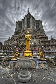 Golden Buddha, Wat Arun, Bangkok, #Thailand