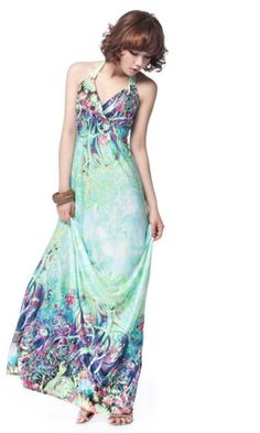622b4b56a776 ... dresses online in India · Women s Stylish Multi Color Maxi Dress2