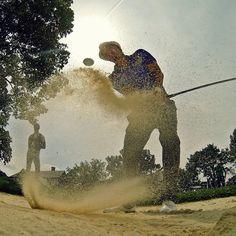 Short game work for Freddie Jacobson at Oak Hill. #GoPro #Golf