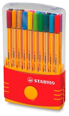Stabilo Pen Parade Set: am now addicted to these fineliner pens. thanks to Sarah F.