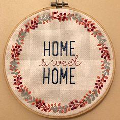 Home Artikel home home cross stitch pattern home modern cross stitch