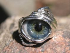 I have this glass eye ball ring and have yet to find any others like it... Love the design.