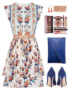 A fashion look from July 2016 featuring white colour dress, gianvito rossi shoes and purse clutches. Browse and shop related looks. Dress Outfits, Casual Dresses, Fashion Outfits, Womens Fashion, Classy Outfits, Casual Outfits, Cute Outfits, Looks Chic, Daily Fashion