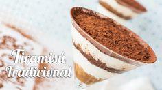 Tiramisú tradicional en copa | Postre sin horno | Quiero Cupcakes!