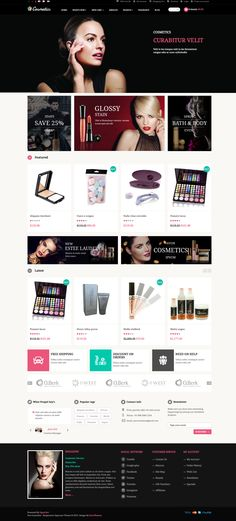 Cosmetics #Opencart Theme | Demo, Buy and Download: http://themeforest.net/item/pav-cosmetics-opencart-theme/6355883?WT.ac=category_thumb&WT.z_author=pavothemes&ref=ksioks