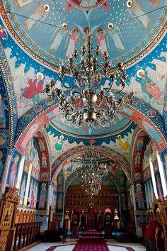 Monasterio Brancoveanu sambata de Sus. Rumania