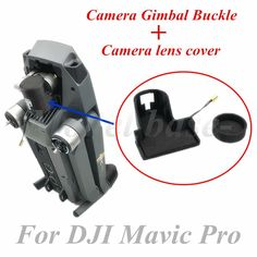 Mavic Camera Protector Bracket Clip Gimbal Fixator Lock Clamp Camera Lens Cover Buckle for DJI Mavic PRO Aerial Photos Videos