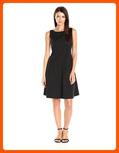 Theory Women's Cicieema_light Popli Dresses, Black, 10 - All about women (*Amazon Partner-Link)