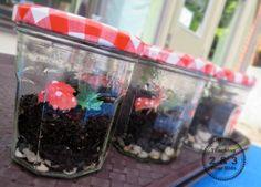 gardening with kids: DIY terrariums