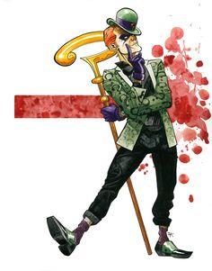 HeroChan — The Riddler Created by Dave Knox Comic Book Villains, Dc Comics Characters, Dc Comics Art, Batman Comics, Comics Toons, Creepy Clown, Batman Universe, Riddler, Batman Family