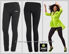 ZUMBA Twist Classic Long Leggings So Flattering! Slims,Shapes,Smooths M L XL XXL #ZumbaFitness #LeggingsPantsTights