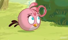 Angry Birds Seasons Back to School pink Girl!  <3