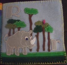 Drake's Felt Name Book (image insane!) - TOYS, DOLLS AND PLAYTHINGS